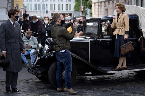 Production in Hungary underway on 'Mrs Harris Goes To Paris'