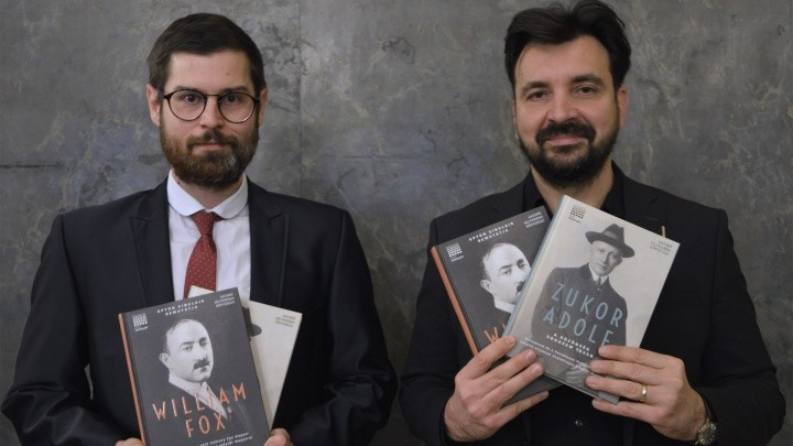 The autobiographical volume of Adolf Zukor and William Fox is now published in Hungarian