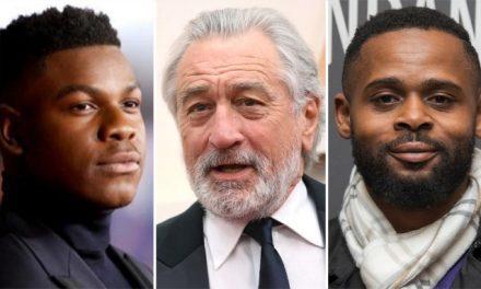John Boyega And Robert De Niro in Netflix's new feature film directed by Gerard McMurray