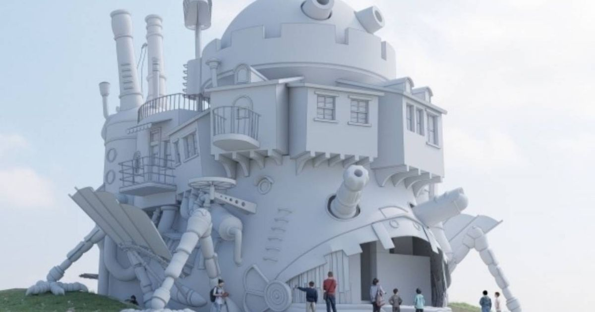 Japan's own Disneyland will feature a giant moving castle