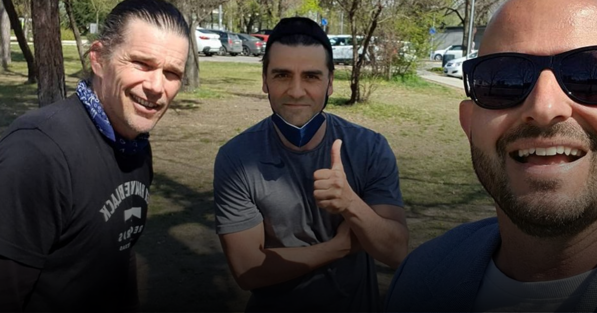 Oscar Isaac and Ethan Hawke Spotted in Budapest – cameras rolling from next week