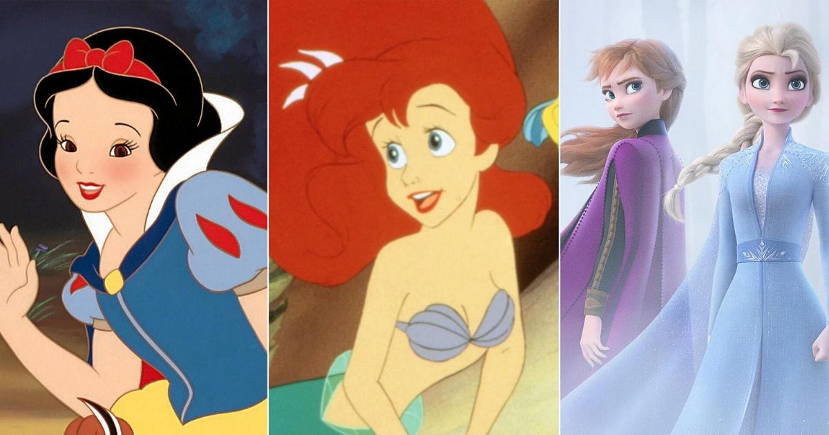 Evolution of Disney animation