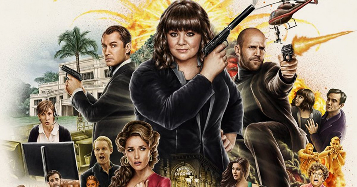 The funniest agent – Spy (2015) Review