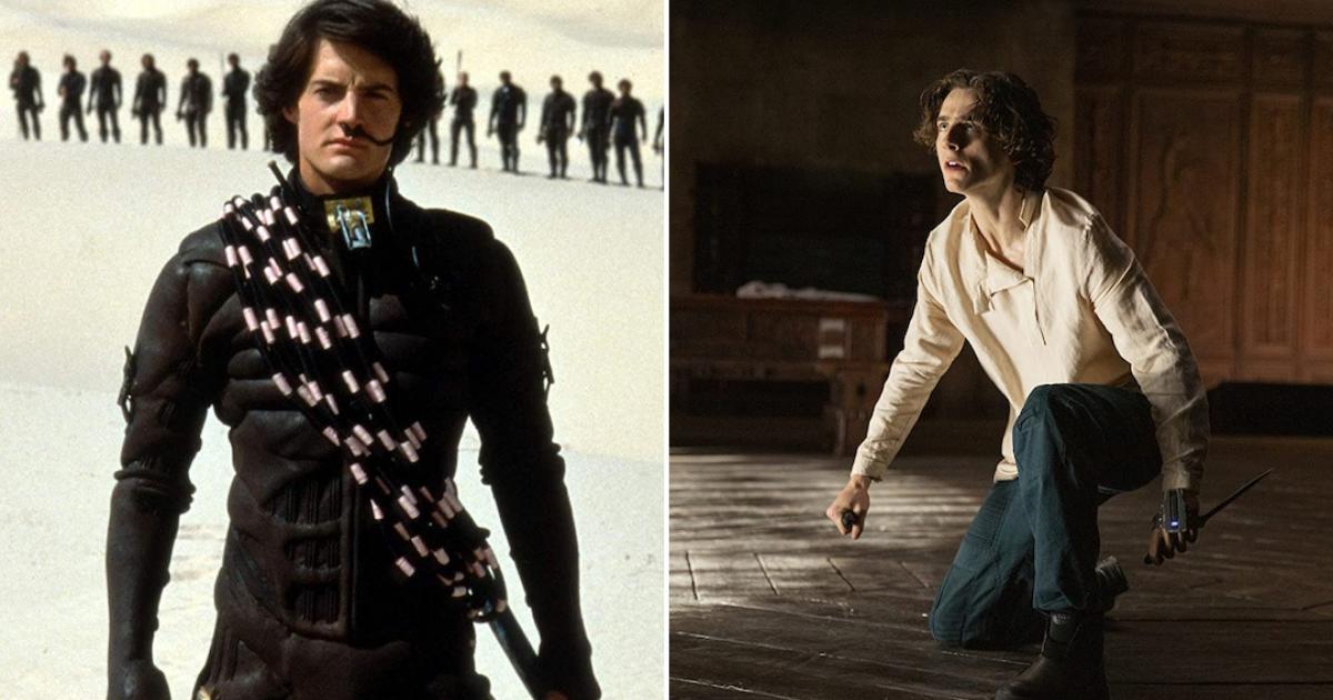 Character comparisons: Dune 1984 vs Dune 2020