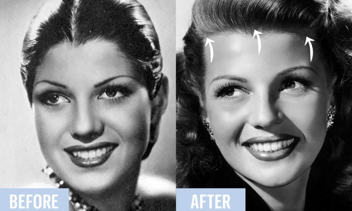 makeup, film tricks, makeup tricks, Hollywood movies, Makeup in film, Greta Garbo, Marilyn Monroe, Elizabeth Taylor
