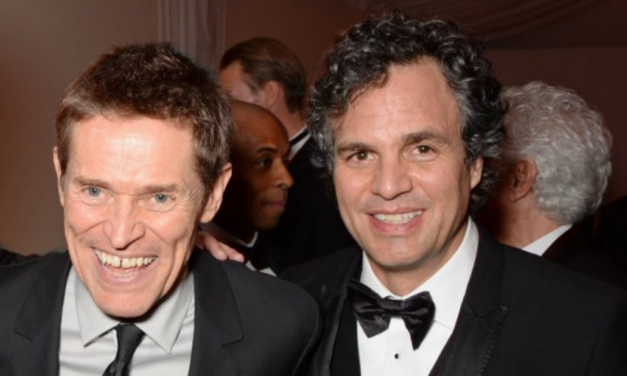 Mark Ruffalo and Willem Dafoe are in Budapest!